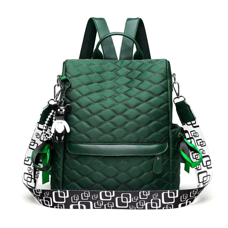 JTF34460 IDR.78.000 MATERIAL NYLON SIZE L28XH30XW14CM WEIGHT 500GR COLOR GREEN