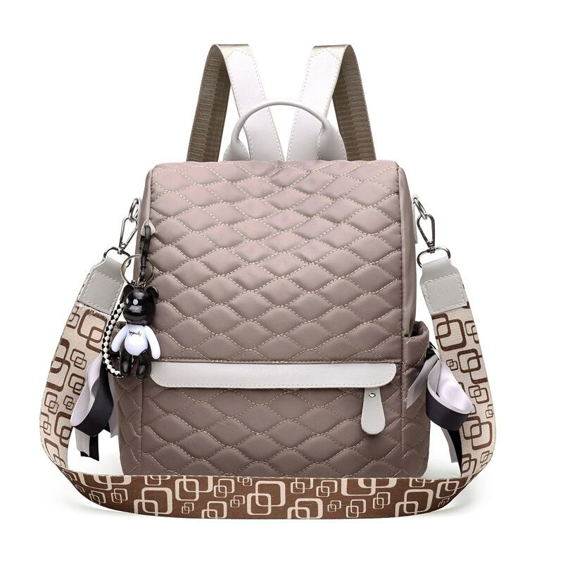 JTF34460 IDR.78.000 MATERIAL NYLON SIZE L28XH30XW14CM WEIGHT 500GR COLOR KHAKI