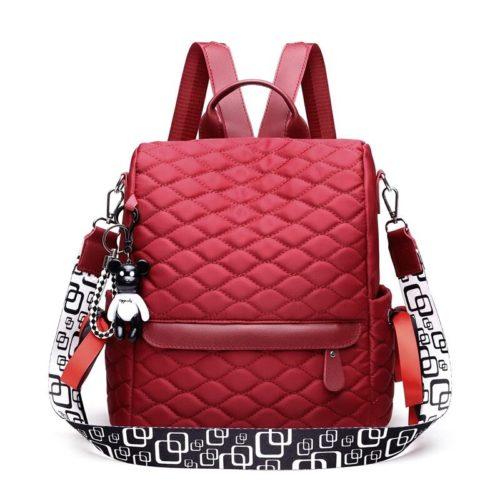 JTF34460-red Tas Ransel Import Wanita Cantik Terbaru