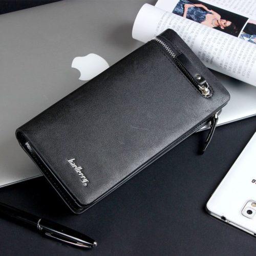 JTF357-black Dompet Panjang Pria BAELLERRY Terbaru Modis