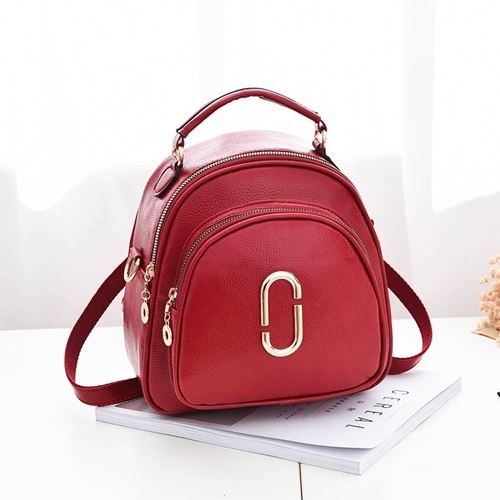 JTF35871 IDR.58.000 MATERIAL PU SIZE L23XH24XW15CM WEIGHT 600GR COLOR RED