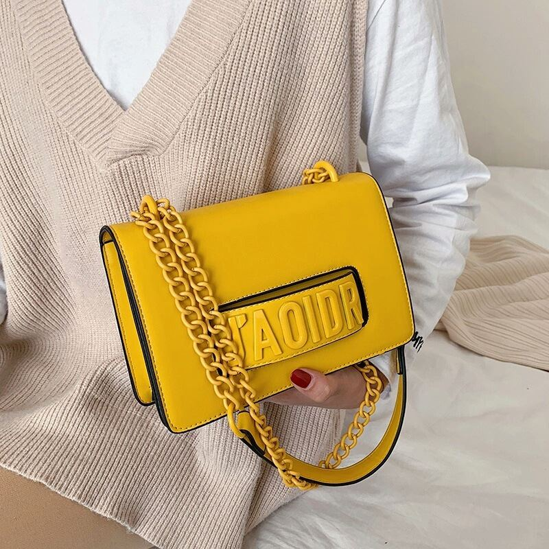 JTF3762 IDR.85.000 MATERIAL PU SIZE L22XH15XW8CM WEIGHT 510GR COLOR YELLOW