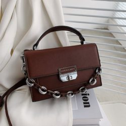 JTF3780-brown Tas Handbag Selempang Import Wanita Elegan