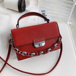 JTF3780-red Tas Handbag Selempang Import Wanita Elegan