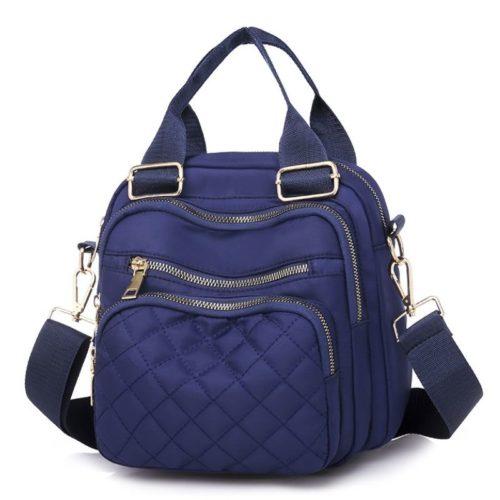JTF457-blue Tas Selempang Wanita Cantik Import Bisa Ransel