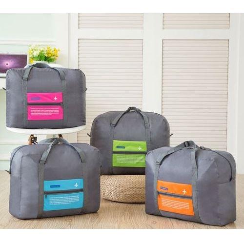 JTF5003-green Folding Bag Serbaguna Bisa Dilipat