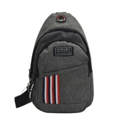 JTF5026-gray Tas Sling Bag Pria Modis Import Terbaru