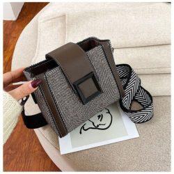 JTF5045-brown Tas Selempang Fashion Wanita Cantik Import