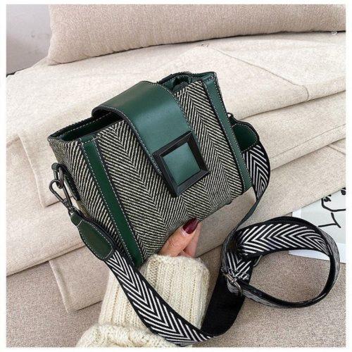 JTF5045-green Tas Selempang Fashion Wanita Cantik Import