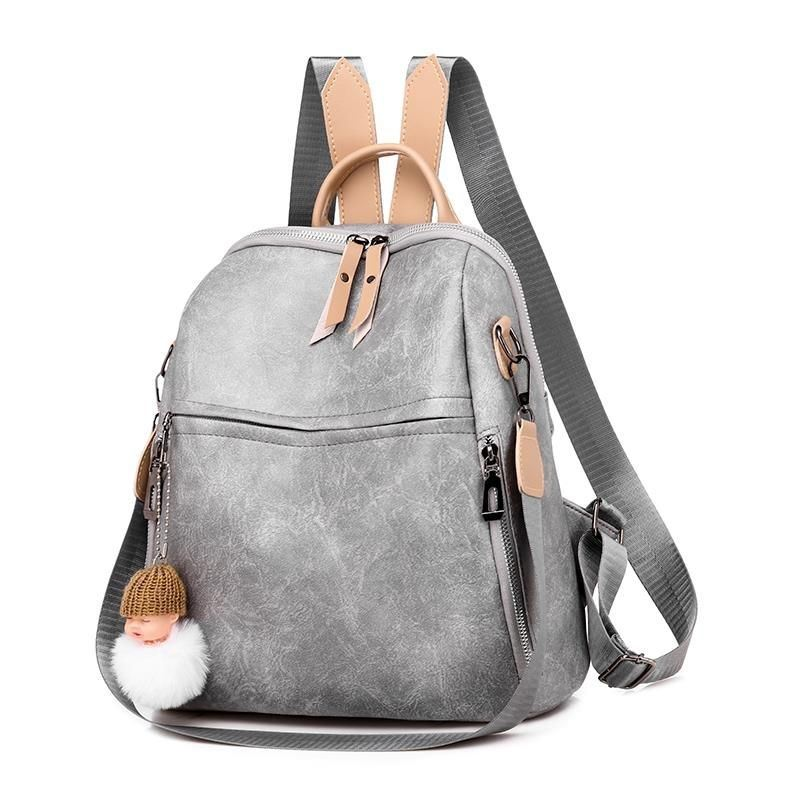 JTF507 IDR.80.000 MATERIAL PU SIZE L28XH30XW11CM WEIGHT 500GR COLOR GRAY