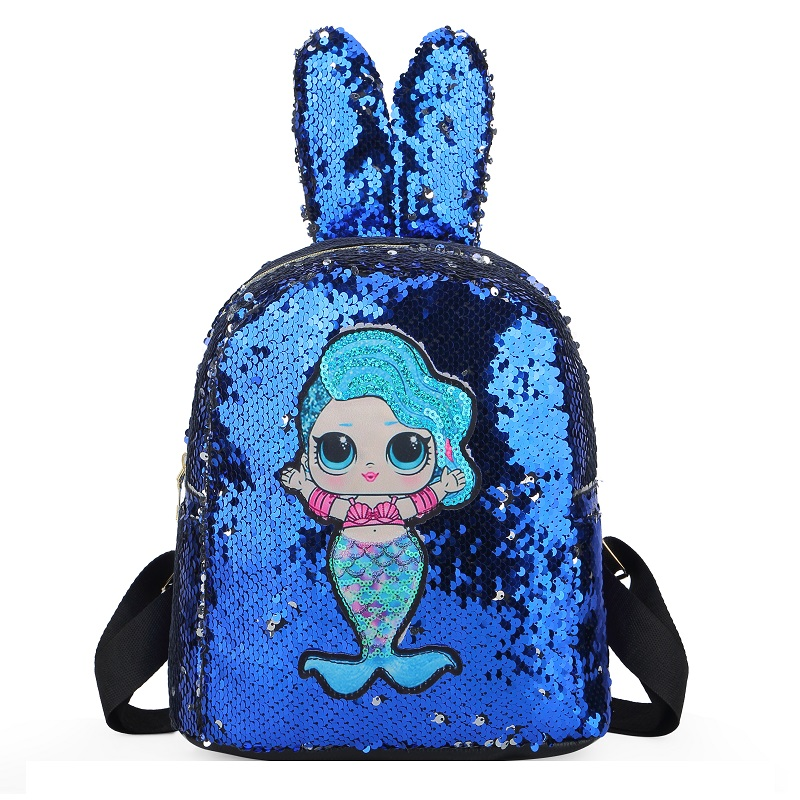 JTF550 IDR.60.000 MATERIAL SEQUIN (LED) SIZE L25XH27XW12CM WEIGHT 350GR COLOR BLUE
