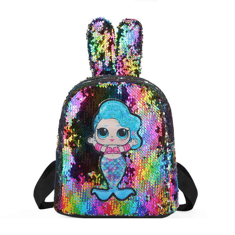 JTF550 IDR.60.000 MATERIAL SEQUIN (LED) SIZE L25XH27XW12CM WEIGHT 350GR COLOR RAINBOW