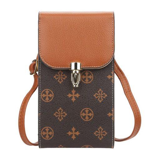 JTF5570-brown Tas Handphone Sling Bag BAELLERRY Terbaru