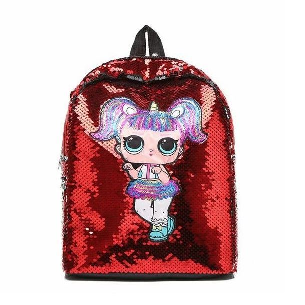 JTF558 IDR.65.000 MATERIAL SEQUIN (LED) SIZE L23XH30XW13.5CM WEIGHT 350GR COLOR RED