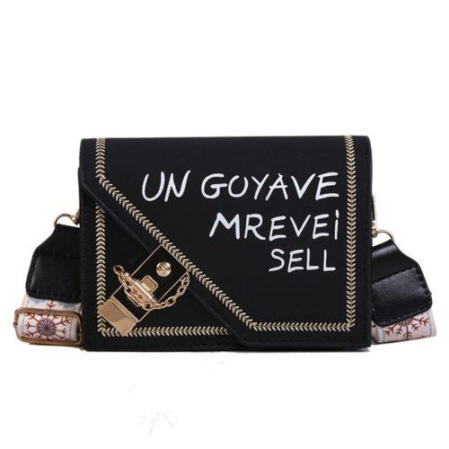 JTF5698-black Tas Selempang Clutch Fashion Import Wanita