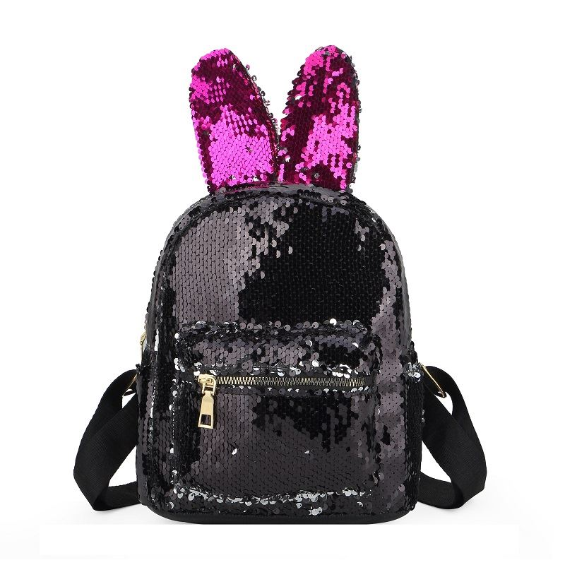 JTF600 IDR.59.000 MATERIAL SEQUIN (LED) SIZE L21XH23XW10CM WEIGHT 350GR COLOR BLACK