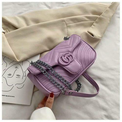 JTF6045-purple Tas Clutch Selempang Wanita Cantik Import