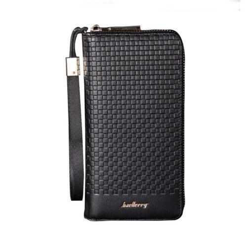 JTF6055-black Dompet Panjang Pria Keren Baellerry Terbaru