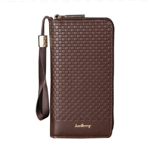 JTF6055-brown Dompet Panjang Pria Keren Baellerry Terbaru