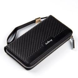 JTF6056-black Dompet Panjang Pria BAELLERRY Modis Terbaru