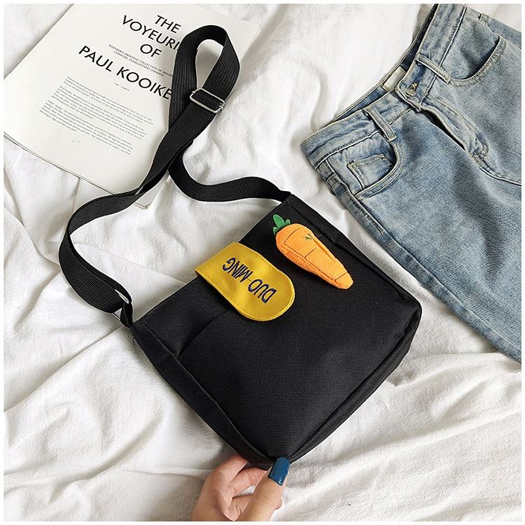 JTF607 IDR.28.000 MATERIAL CANVAS SIZE L21XH20XW6CM WEIGHT 150GR COLOR BLACK