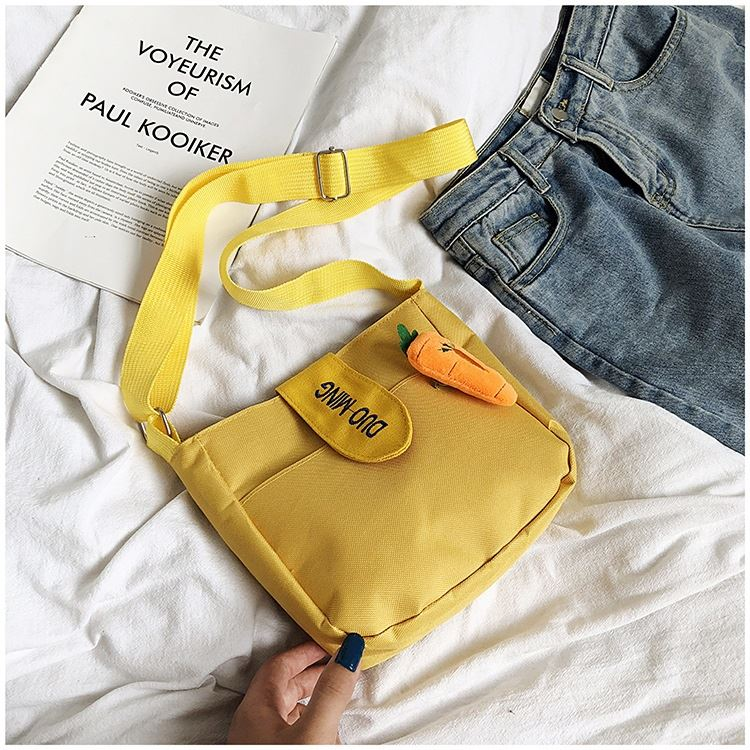 JTF607 IDR.28.000 MATERIAL CANVAS SIZE L21XH20XW6CM WEIGHT 150GR COLOR YELLOW