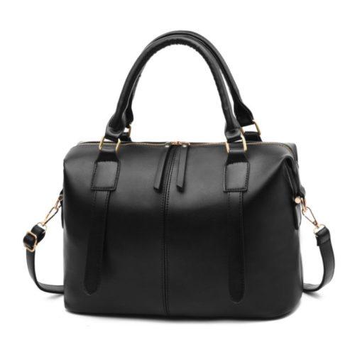JTF608501-black Tas Tangan Tali Selempang Fashion Terbaru