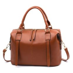 JTF608501-brown Tas Tangan Tali Selempang Fashion Terbaru