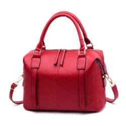 JTF608501-red Tas Tangan Tali Selempang Fashion Terbaru