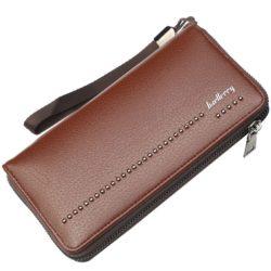 JTF6086-brown Dompet Panjang Pria BAELLERRY Import Terbaru