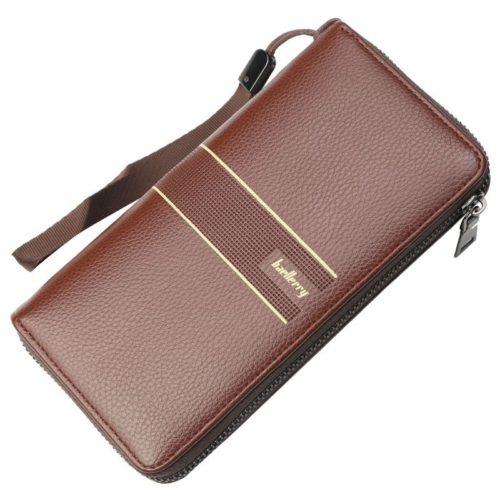 JTF6088-brown Dompet Panjang Pria BAELLERRY Import Terbaru
