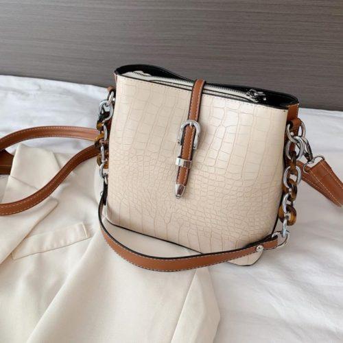 JTF6261-beige Tas Selempang Fashion Import Wanita Cantik