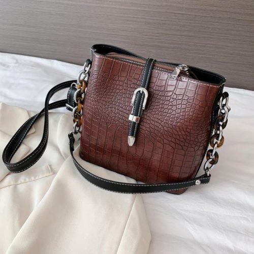 JTF6261-brown Tas Selempang Fashion Import Wanita Cantik