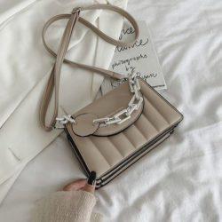JTF6494-khaki Tas Selempang Fashion Wanita Elegan Import