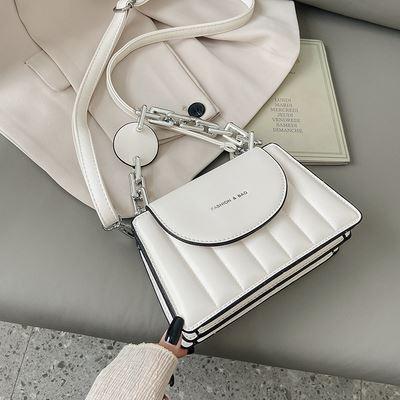 JTF6494-white Tas Selempang Fashion Wanita Elegan Import