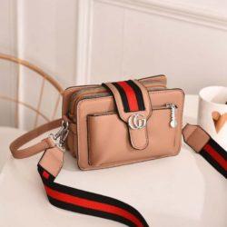 JTF6868-khaki Tas Selempang Fashion Modis Import Terbaru