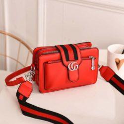 JTF6868-red Tas Selempang Fashion Modis Import Terbaru