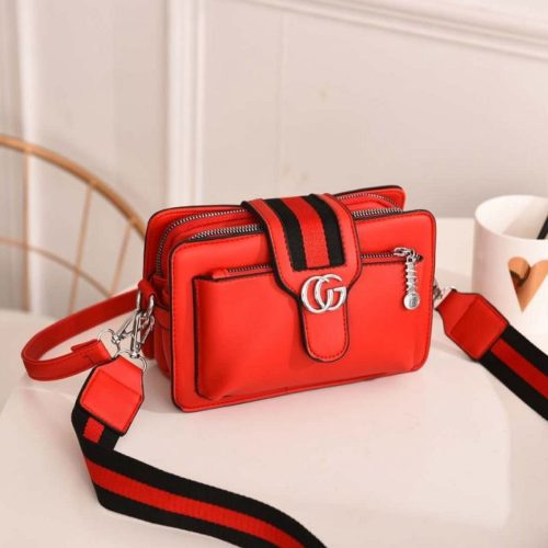 JTF6868-red Tas Selempang Fashion Modis Import Terbaru