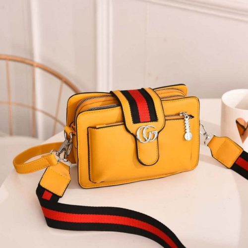 JTF6868-yellow Tas Selempang Fashion Modis Import Terbaru