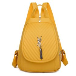 JTF7119-yellow Tas Ransel Fashion Stylish Import Terbaru