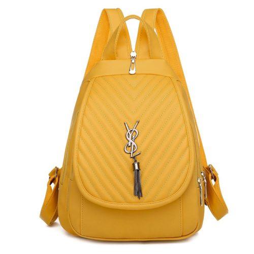 JTF7119-yellow Tas Ransel Fashion Stylish Import Terbaru