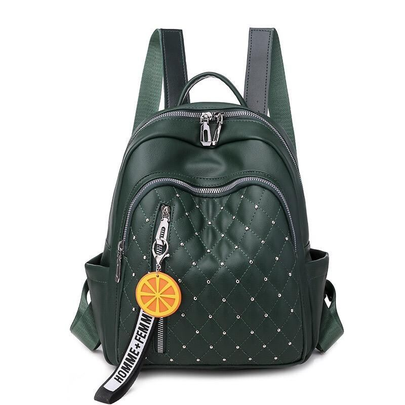 JTF7132 IDR.65.000 MATERIAL PU SIZE L25XH30XW11CM WEIGHT 500GR COLOR GREEN