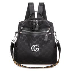JTF7149-black Tas Ransel Wanita Cantik Import Elegan