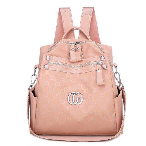 JTF7149-pink Tas Ransel Wanita Cantik Import Elegan