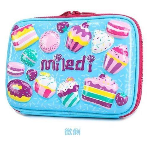 JTF72029-cakes Tas Alat Tulis Anak Serbaguna (Bisa untuk Tab) Import