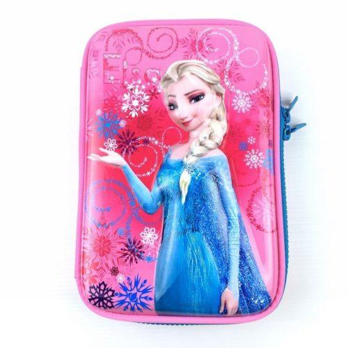 JTF72029-pinkfrozen Tas Alat Tulis Anak Serbaguna (Bisa untuk Tab) Import