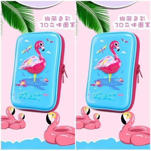 JTF72029-swan Tas Alat Tulis Anak Serbaguna (Bisa untuk Tab) Import