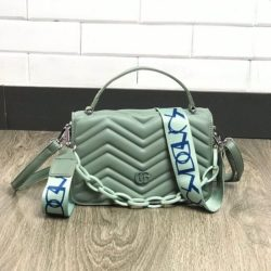 JTF7241-green Tas Handbag Selempang Pesta Wanita Cantik Elegan