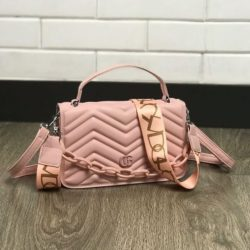 JTF7241-pink Tas Handbag Selempang Pesta Wanita Cantik Elegan