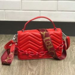 JTF7241-red Tas Handbag Selempang Pesta Wanita Cantik Elegan